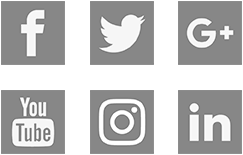 Social Media Icons black and white